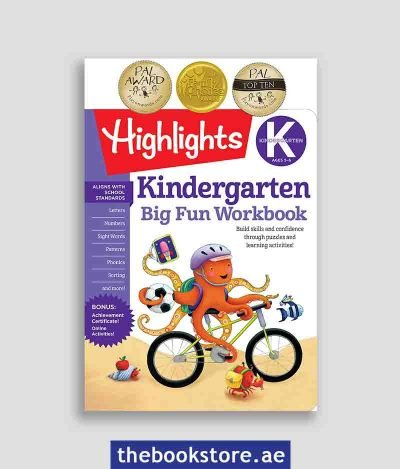 The Big Fun Kindergarten Activity Book
