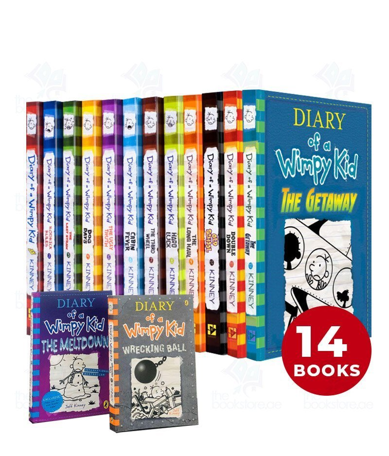 Diary of a Wimpy Kid Collection 14 Books Set