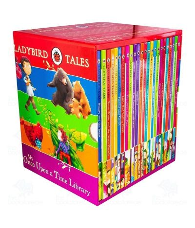Ladybird Tales My Once Upon a Time Library Children Classics Collection 24 Books Box