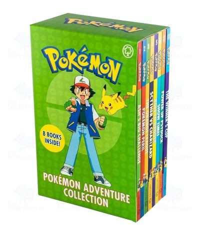 Pokemon Adventure Collection 8 Books Box Set