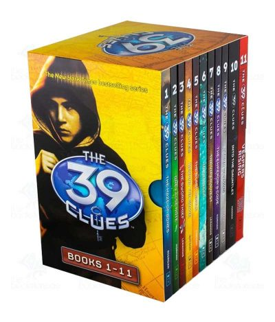 The 39 Clues Series 1 - 11 Books Collection Box Set